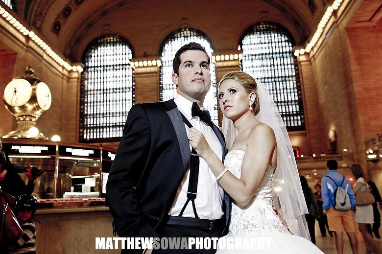 47.Grand  central wedding
