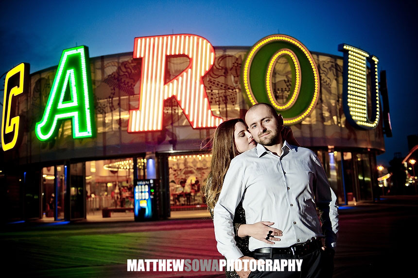 23 NYC CITY Coney Island engagement photography session