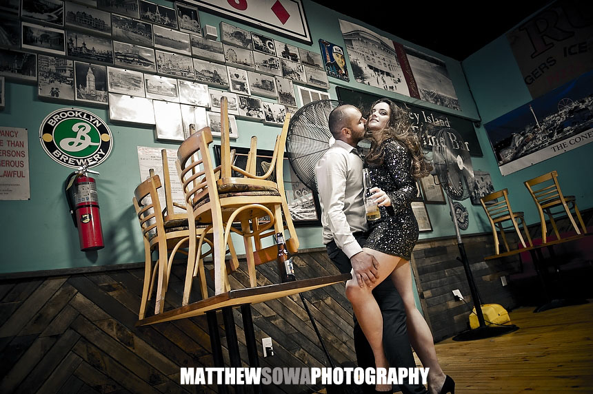 27 Coney Island engagement photography shoot