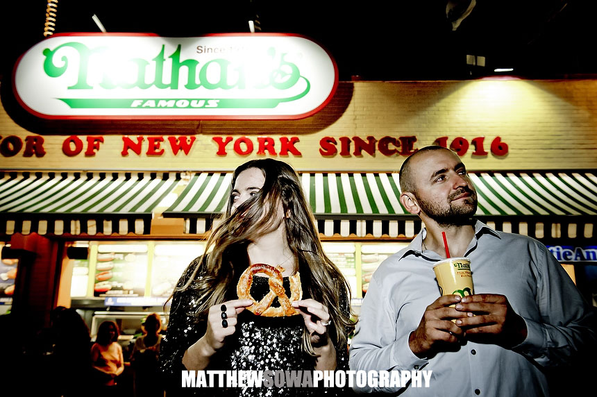 29a NYC CITY Coney Island engagement photography session