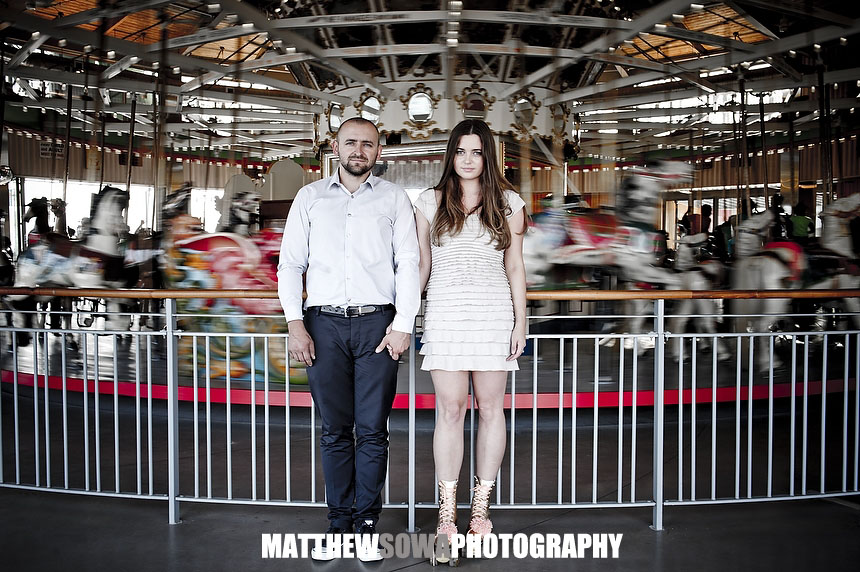 3 NYC CITY Coney Island engagement photography session