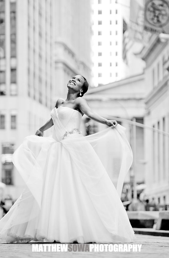 20.NYC broad street wedding images