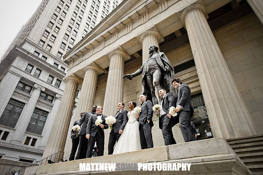 21.wall street wedding images