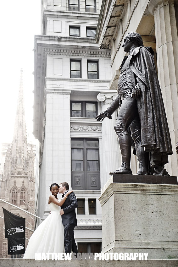 23.wall street & broad street wedding images