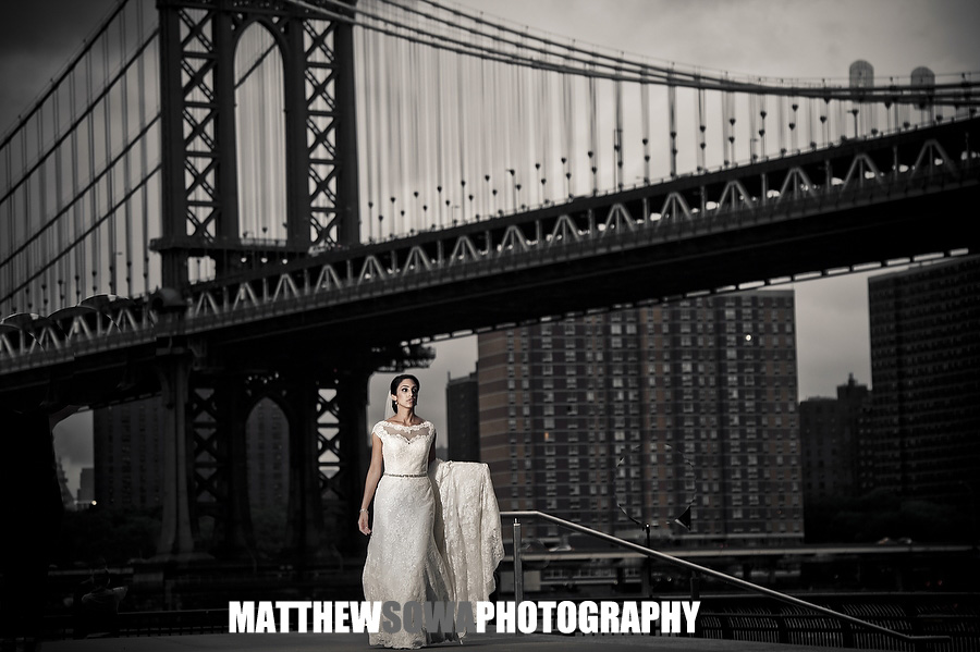 20 brooklyn bridge top wedding photography