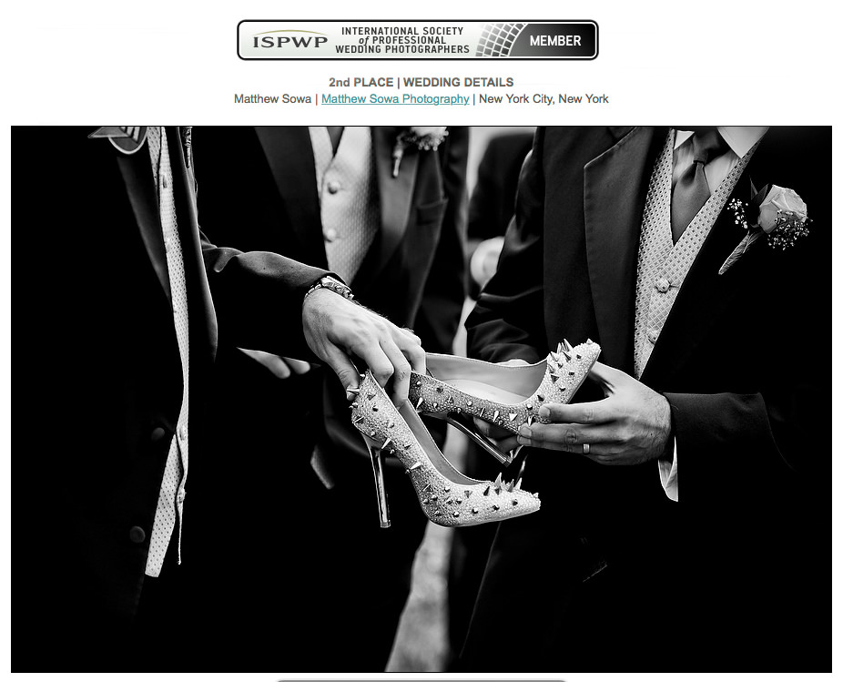 0a.ISPWP Sprinng 2015 Matthew Sowa Award Winning Wedding photopgrapher
